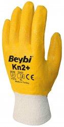 Beybi Kn2 Plus nitriilipinnoitetut puuvillakäsineet