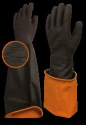 Beybi Long Black 60 mekaaniselta kulutukselta suojaava käsine