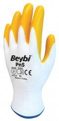 Beybi Pn5 nitriilipinnoitetut polyesterikäsineet