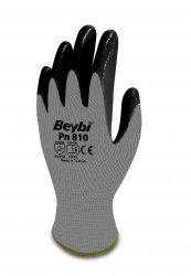 Beybi Pn810 nitriilipinnoitetut polyesterikäsineet