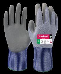 Xcellent 12-380 X-WET polyuretaanipinnoitettu viiltosuojakäsine